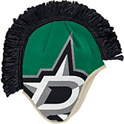 adidas Men's Dallas Stars Mohawk Green Knit Beanie
