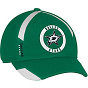 adidas Men's Dallas Stars Practice Structured Green Flex Hat