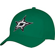 adidas Men's Dallas Stars Team Colored Basic Structured Green Flex Hat