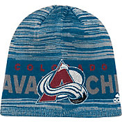 adidas Men's Colorado Avalance Locker Room Blue Knit Beanie