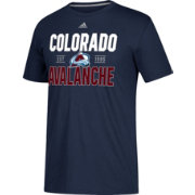 adidas Men's Colorado Avalanche The Go-To Navy Performance T-Shirt