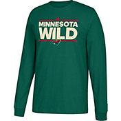 adidas Men's Minnesota Wild Dassler Green Long Sleeve Shirt