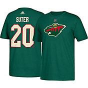 adidas Men's Minnesota Wild Ryan Suter #20 Green T-Shirt