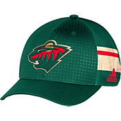 adidas Men's Minnesota Wild 2017 NHL Draft Structured Flex Hat