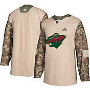 adidas Men's Minnesota Wild Camo Authentic Pro Jersey