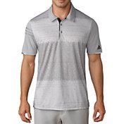 adidas Men's climachill Pixel Print Golf Polo