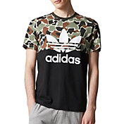 adidas Originals Men's Camouflage Colorblock T-Shirt