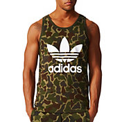 adidas Originals Men's Camouflage Trefoil Sleeveless Shirt