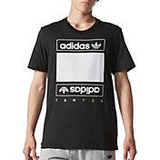 adidas Originals Men's Mesh Box Logo T-Shirt