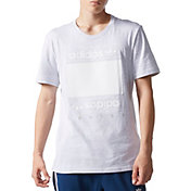 adidas Originals Men's Mesh Box Logo T-Shirt