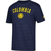adidas Men's Colombia City Worn Navy Heathered T-Shirt