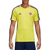 adidas Men's Colombia Yellow Training T-Shirt