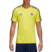 adidas Men's Colombia Yellow Training T-Shirt