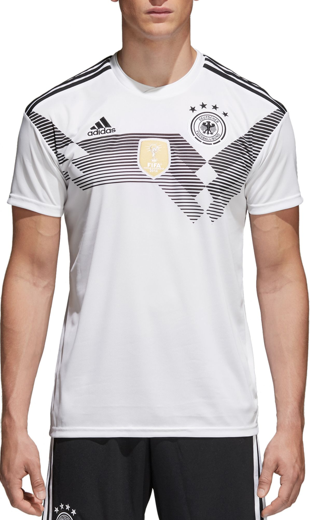 Image result for GERMANY ADIDAS REPLICA HOME JERSEY MENS