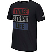 adidas Men's Three Stripe Life Graphic T-Shirt