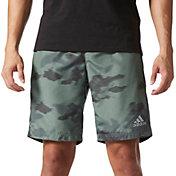 adidas Men's Sequencials Motion Blur Camo Print Running Shorts