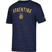 adidas Men's Argentina City Worn Navy Heathered T-Shirt