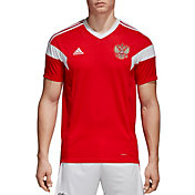 adidas Men's Russia Replica Home Red Stadium Jersey