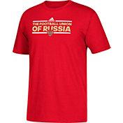 adidas Men's Russia Local Dassler Red T-Shirt
