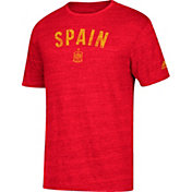 adidas Men's Spain City Worn Red Heathered T-Shirt