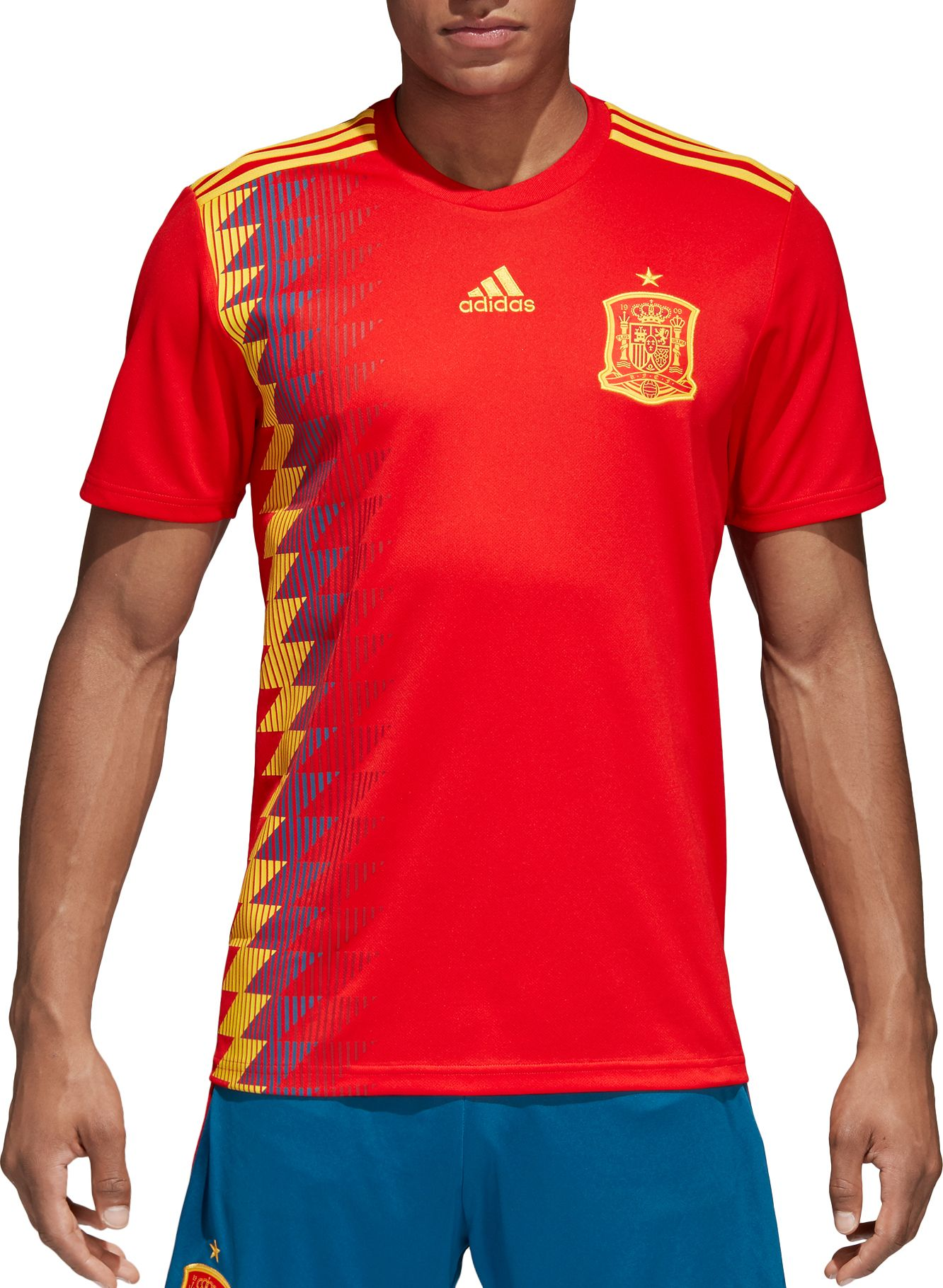 Image result for SPAIN REPLICA ADIDAS HOME JERSEY MENS