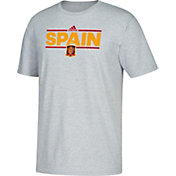 adidas Men's Spain Local Dassler Light Heather Grey T-Shirt