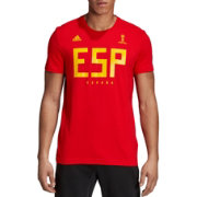 adidas Men's 2018 FIFA World Cup Spain Crest Red T-Shirt
