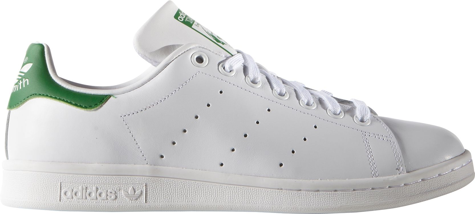 Product Image � adidas Originals Men\u0027s Stan Smith Casual Shoes. White/Green  ...