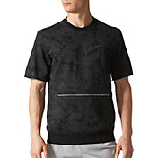 adidas Men's French Terry Printed Crewneck T-Shirt