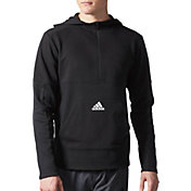 adidas Men's Post Game Fleece Half Zip Hoodie