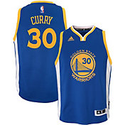 adidas Toddler Golden State Warriors Steph Curry #30 Road Royal Swingman Jersey