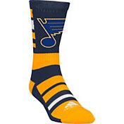 adidas St. Louis Blues Team Color Stripe Crew Socks