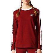 adidas Originals Women's 3-Stripes Long Sleeve Shirt