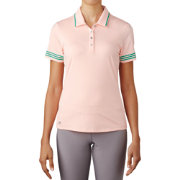 adidas Women's 3-Stripes Tipped Golf Polo