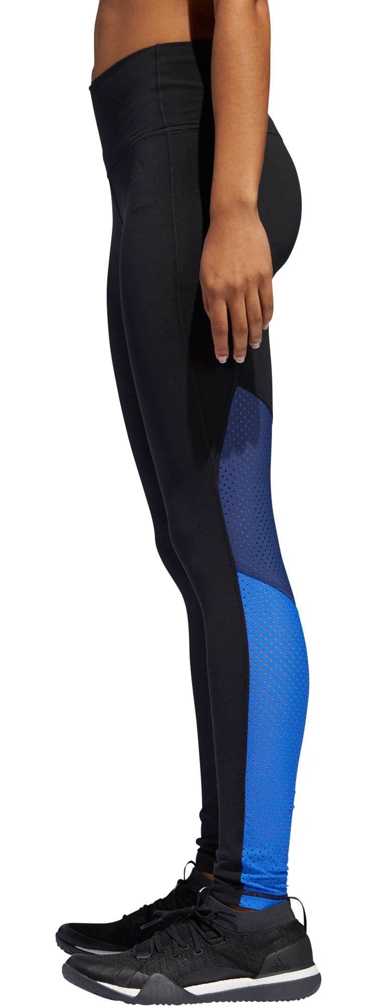 Adidas Women's Believe This Mesh Mix 7/8 Training Tights by Adidas
