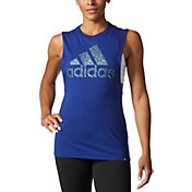 adidas Women's Badge of Sport Digicraft Tank Top