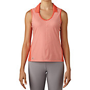 adidas Women's climachill Fashion Sleeveless Golf Polo