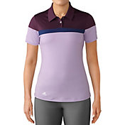 adidas Women's Color Blocked Golf Polo