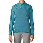 adidas Women's Advantage Half-Zip Golf Pullover