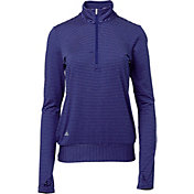 adidas Women's Advantage 1/4-Zip Golf Pullover