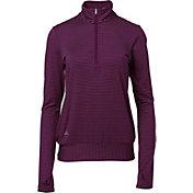 adidas Women's Advantage 1/4-Zip Golf Pullover