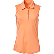 adidas Women's Advantage Sleeveless Golf Polo