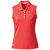 adidas Women's Advantage Sleeveless Golf Polo