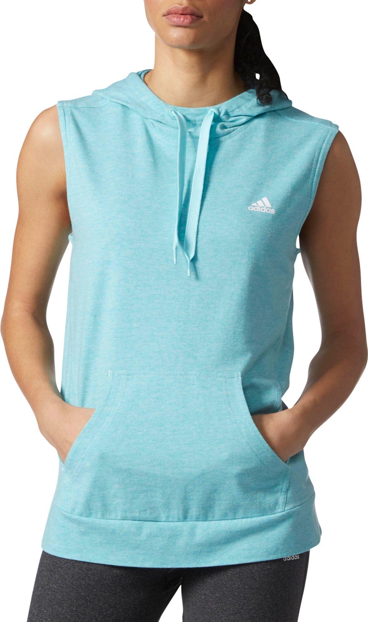 adidas hoodie womens. adidas women\u0027s all season sleeveless hoodie womens l