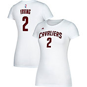 adidas Women's Cleveland Cavaliers Kyrie Irving #2 White T-Shirt