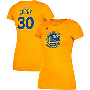 adidas Women's Golden State Warriors Steph Curry #30 Gold T-Shirt