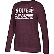 adidas Women's Mississippi State Bulldogs Maroon Comfy Crew Sweatshirt