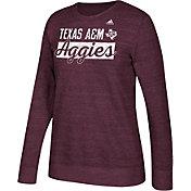 adidas Women's Texas A&M Aggies Maroon Comfy Crew Sweatshirt