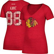 CCM Women's Chicago Blackhawks Patrick Kane #88 Red T-Shirt