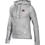 adidas Women's Columbus Blue Jackets Team Stitch Heather Grey Pullover Hoodie